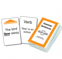 Grammar Sentences Smart Chute Cards