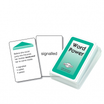 Word Power Smart Chute Cards