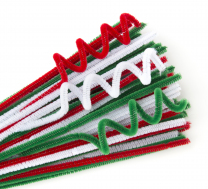 Pipe Cleaners - Christmas Colours