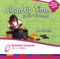 Clean Up Time Book