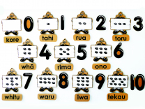 Maori Magnetic Counting Set 0-10