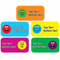 Big Smiles Personalised Stickers