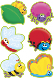 Bugs Mini Accent Cards