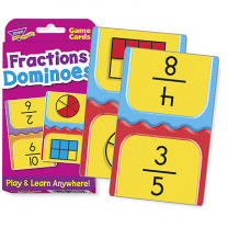 Fractions Dominoes Flash Cards