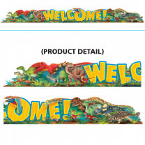 Welcome Discovering Dinosaurs Banner