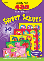 Sweet Scents Stinky Stickers Value Pack
