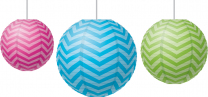 Chevron Lanterns