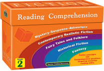 Fiction Reading Comprehension Cards - Level 2