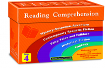 Fiction Reading Comprehension Cards - Level 4
