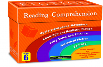 Fiction Reading Comprehension Cards - Level 6