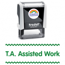 T.A. Assisted Work Stamp