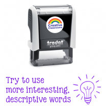 Descriptive Words Stamp