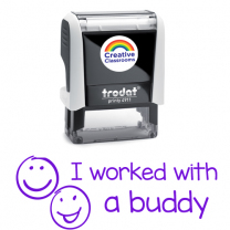 I worked with a Buddy Stamp