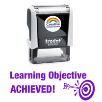 Learning Objective Achieved Stamp