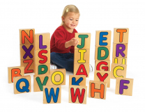Alphabet Unit Blocks - Set of 26