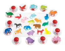 Easy-Grip Animal Stampers - Set of 14