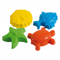 Sand Shapes - Pack of 4
