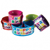 Happy Birthday Slap Wristbands