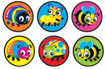 Bug Buddies Spot Stickers