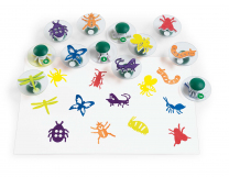 Easy-Grip Bugs Stampers - Set of 12