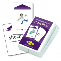 Letter & Sounds 3 Chute Cards