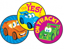 Car-Toons Stinky Stickers (Root Beer)