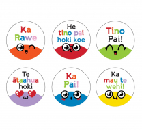 Smiley Faces Te Reo Stickers