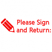 Please Sign and Return Stamp