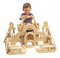 Giant Floor Unit Blocks Value Set - 162 pieces