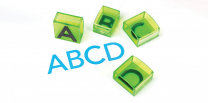 See and Stamp Jumbo Uppercase Alphabet Stamps