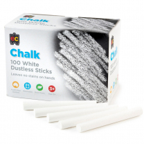Dustless Chalk - White