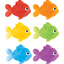 Colourful Fish Mini Accent Cards