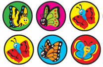 Garden Delights Spot Stickers