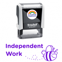 Independent Work Stamp