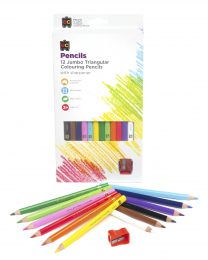Jumbo Triangular Colouring Pencils