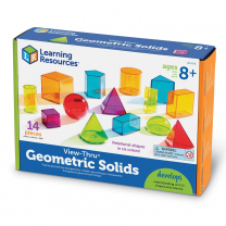 View-Thru Geometic Solids