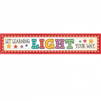 Let Learning Light Your Way Banner