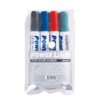 Mungyo Whiteboard Chisel Tip Markers - Pack of 4