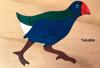 Takahe Wooden Puzzle