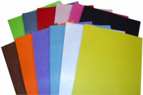 Felt Sheets Assorted Pack A4