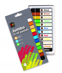 Oil Pastels Jumbo - Set of 12