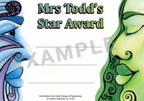 Ranginui Personalised Certificates