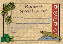 Tuatara Personalised Certificates