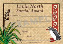 Penguin Personalised Certificates