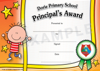 Kids (boy) Personalised Certificates