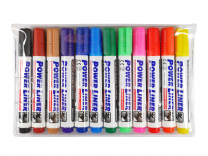 Mungyo Whiteboard Markers Chisel Point -Pack of 12