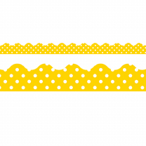 Yellow Polka Dots Trimmers