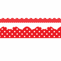 Red Polka Dots Trimmers