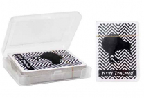 Kiwi Chevron Playing Cards