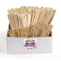 Classroom Craft Sticks Value Pack - 1200 Pieces